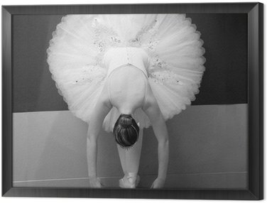 Tavla i Ram Balettdansös