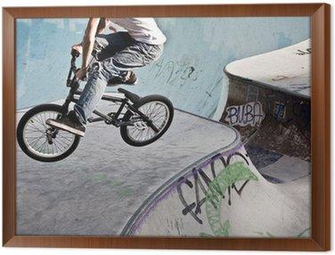 Tavla i Ram BMX im Skatepark