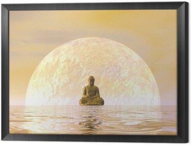 Tavla i Ram Buddha meditation - 3d