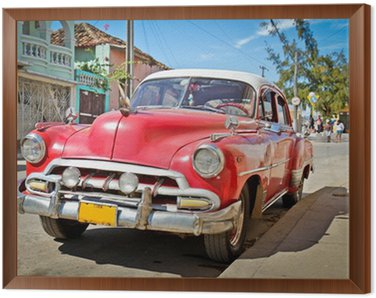 Tavla i Ram Classic Chevrolet i Trinidad, Kuba