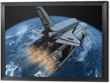 Tavla i Ram Den rymdskepp