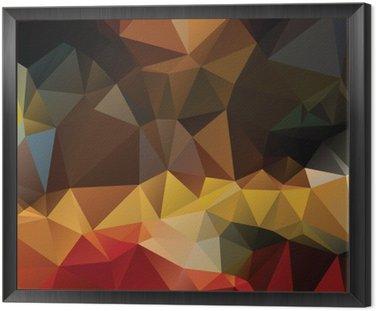Tavla i Ram Färgglada abstrakt bakgrund.