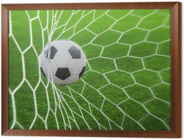 Tavla i Ram Fotboll i mål
