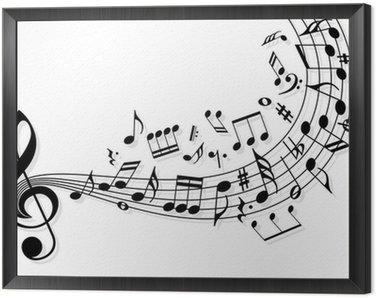 Tavla i Ram Musik noter