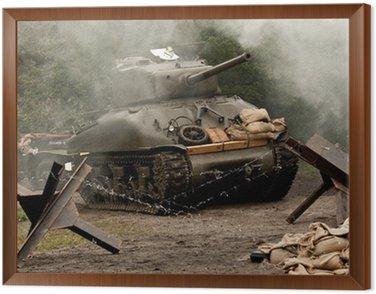 Tavla i Ram Sherman tankar - WW II