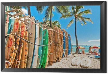 Tavla i Ram Surfbrädor i stället vid Waikiki Beach - Honolulu