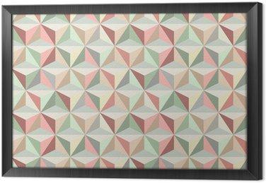Tavla i Ram Triangle sömlösa mönster 1