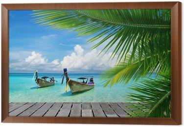 Tavla i Ram Tropiska hav