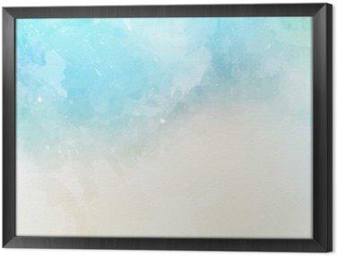 Tavla i Ram Vattenfärg textur bakgrund
