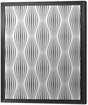 Tavla i Ram Vektor smidig konsistens. Modern abstrakt bakgrund. Geometriska mönster av prickar.