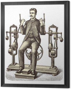 Tavla i Ram Victorian träning (1)