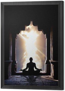 Tavla i Ram Yoga meditation i templet