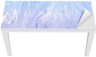 Tischaufkleber und Schreibtischaufkleber Декоративный морозный узор на стекле