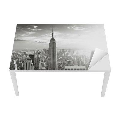 Tischaufkleber und Schreibtischaufkleber Skyline new york