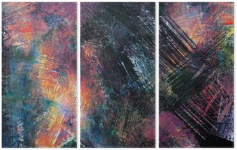 Abstract backgrounds Triptych