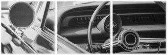Triptychon Classic Car