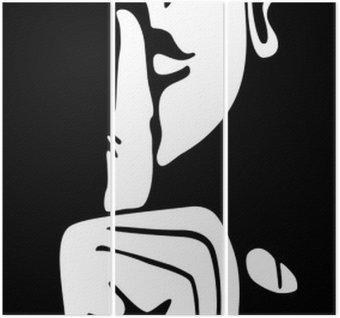 Triptychon Geräuschlosigkeit