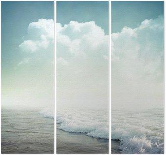 Triptych Tropické pozadí