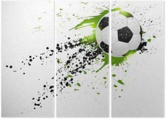 Triptyk Fotboll konstruktion
