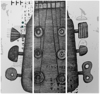 Triptyque Гриф от гитары
