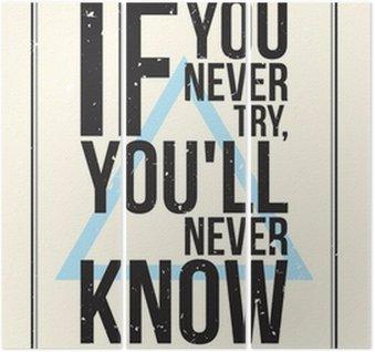 Triptyque Affiche de motivation de Inspiration. Style grunge