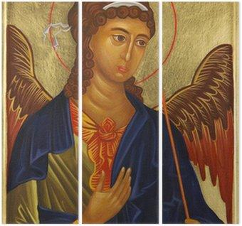 Triptyque Archange Michael icône