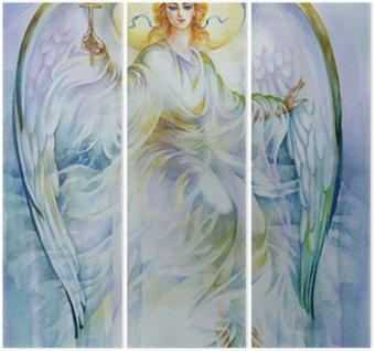 Triptyque Collection Peinture: Angel