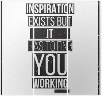 Triptyque Inspiration existe mais il doit vous trouver de travail. Pablo Picass