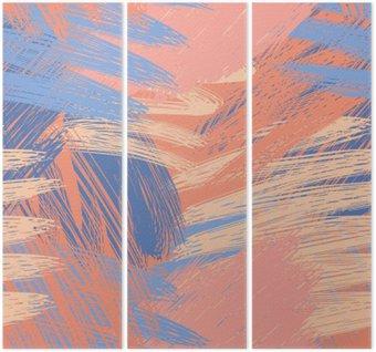 Triptyque Pastel Sophisticated motif de fond