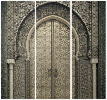 Triptyque Portes anciennes, Maroc