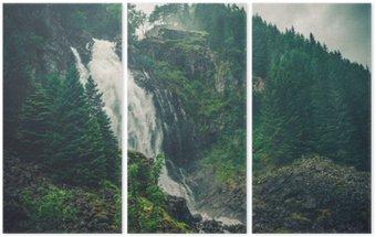 Triptyque Waterfall Norwegian Scenic