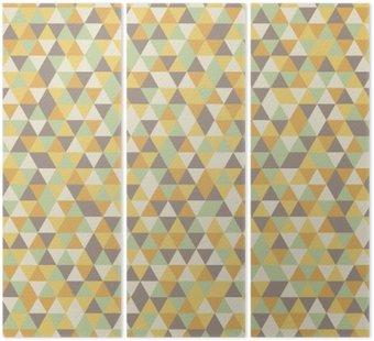 Tryptyk Abstrakcyjny wzór