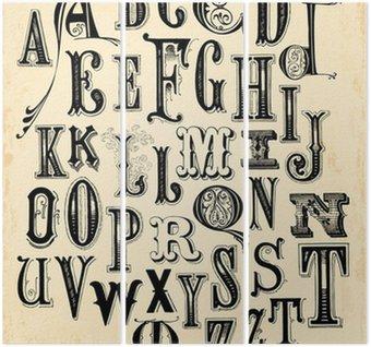 Tryptyk Alfabet archiwalne
