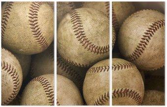 Tryptyk Baseballs