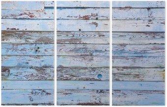 Tryptyk Drewniane tło
