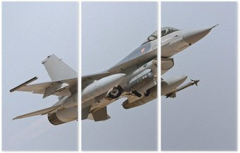 Tryptyk F-16 - Take Off