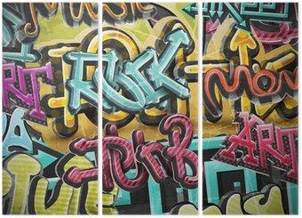Tryptyk Graffiti, grunge