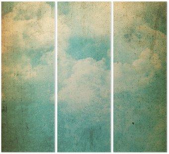 Grunge chmury w tle