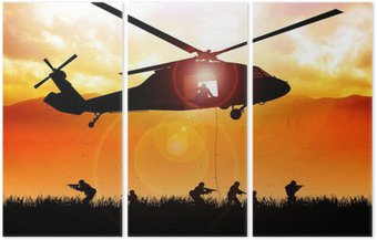 Helikopter spada wojska