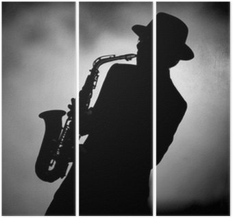 Jazzowy saksofon