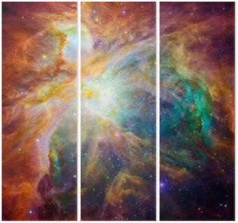 Tryptyk Kosmiczne chmury nazywa Mgławica Oriona