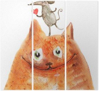 Tryptyk Kot z Mäuse