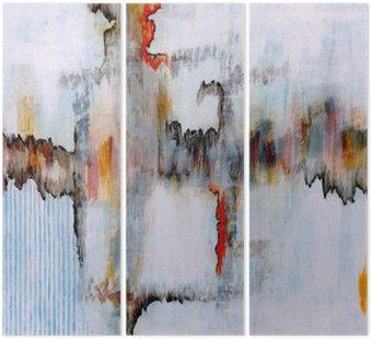 Tryptyk Malarstwo abstrakcyjne
