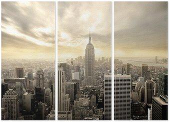 Tryptyk Manhattan