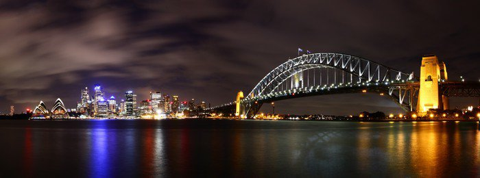 Tryptyk Miasto nocą (Sydney, Australia) - Tematy