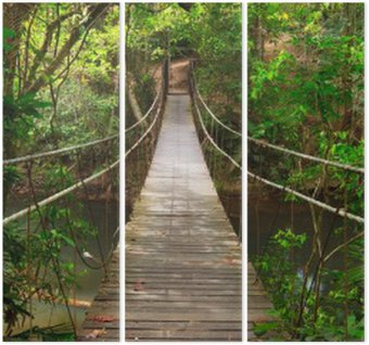 Tryptyk Most do dżungli, park narodowy Khao Yai, Tajlandia
