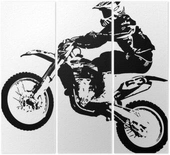 Tryptyk Motocross zworka