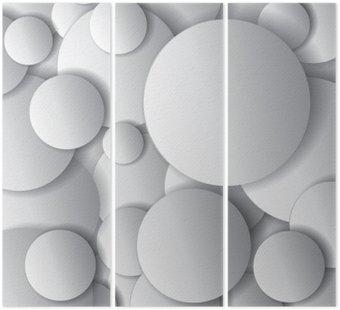 Okręgi Wektor, minimalne obiekty, wektor abstrakcyjna kompozycja projekt