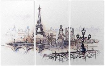 Tryptyk Paryż (seria C)