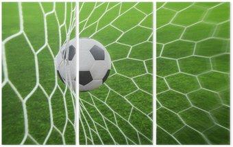 Tryptyk Piłka w bramce